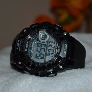 Armitron Digital Diver Sport Alarm Watch WR100m